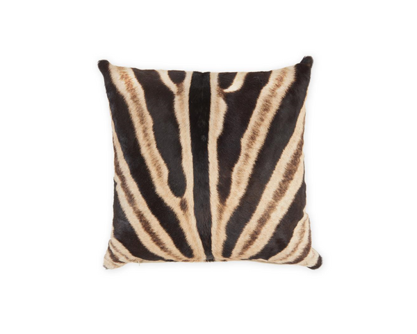 Zebra Pillow, 18""