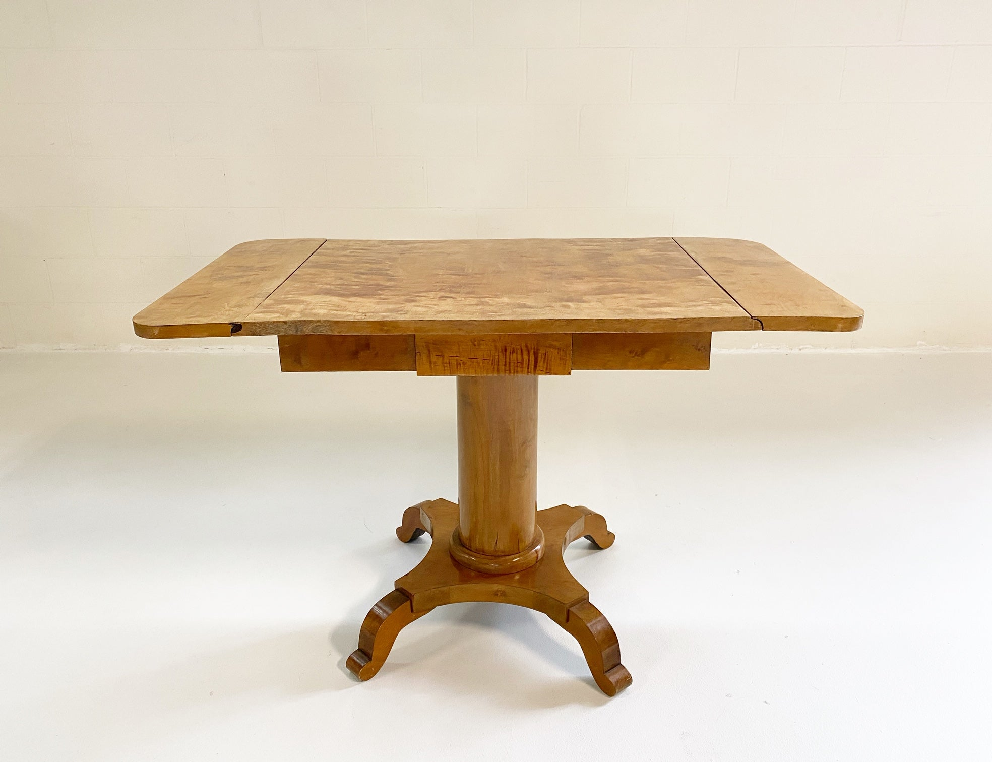 Biedermeier Drop-Leaf Center Table - FORSYTH