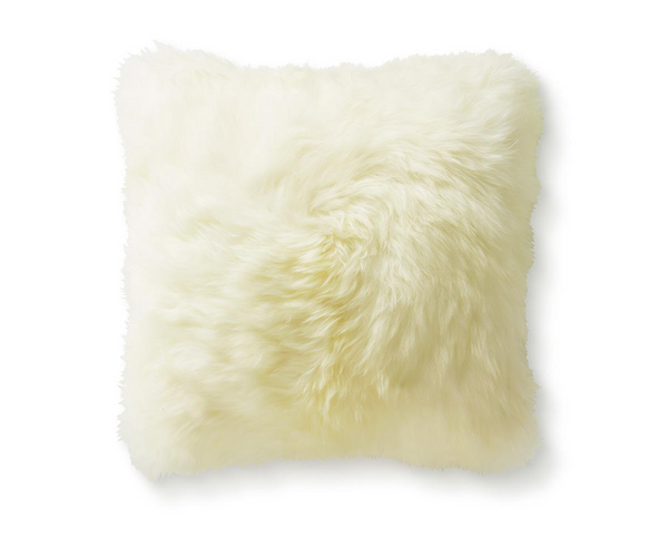 "Brazilian Sheepskin Pillow, 22"" - FORSYTH"