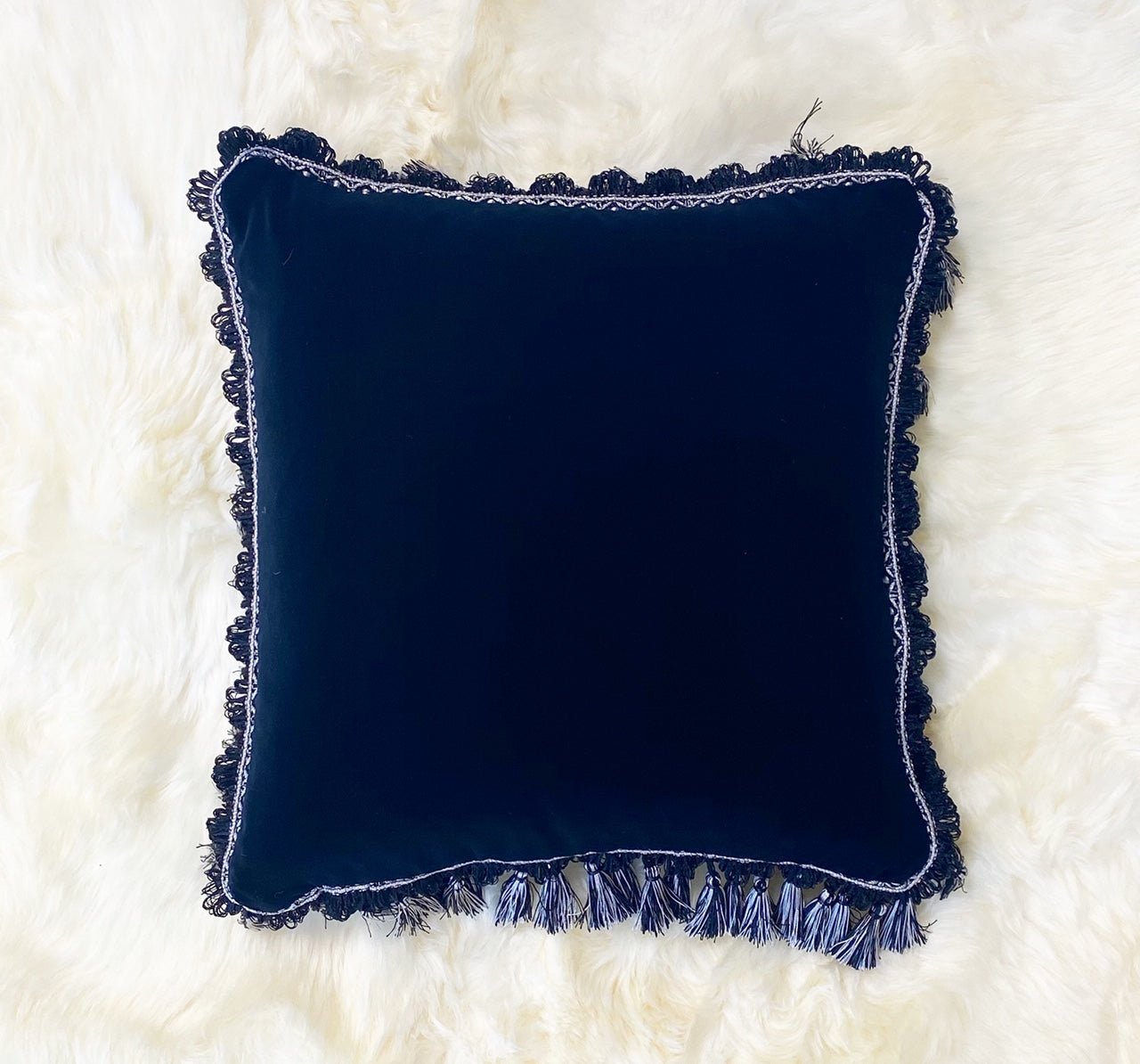 Black Velvet Pillow, 18""
