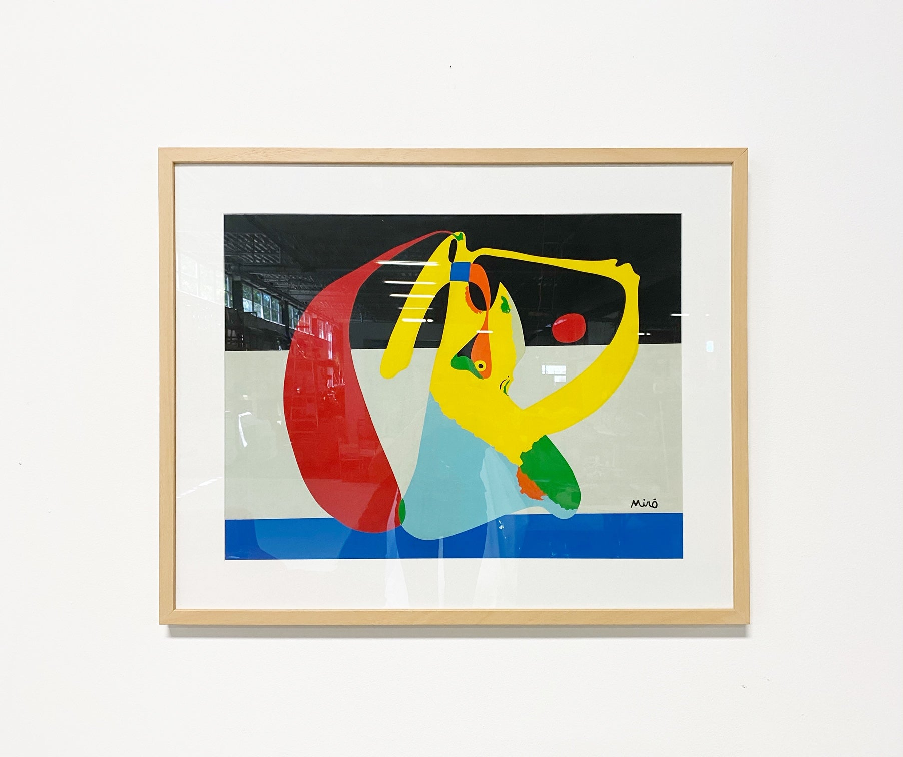 Joan Miro' Framed Screenprint