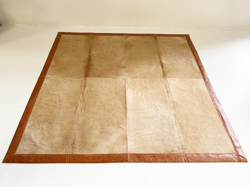 Brazilian Cowhide Area Rug, 10x10 ft - FORSYTH
