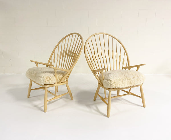 Peacock Lounge Chairs, pair - FORSYTH