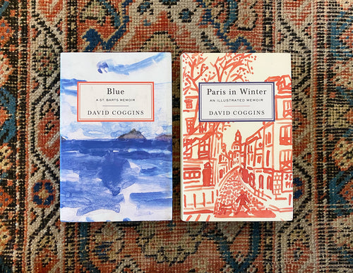 Signed 'Paris In Winter' and 'Blue: A St. Barts Memoir' Book Bundle