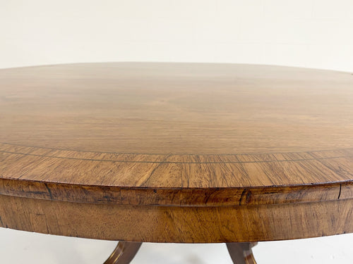 George III Oval Rosewood Dining Table