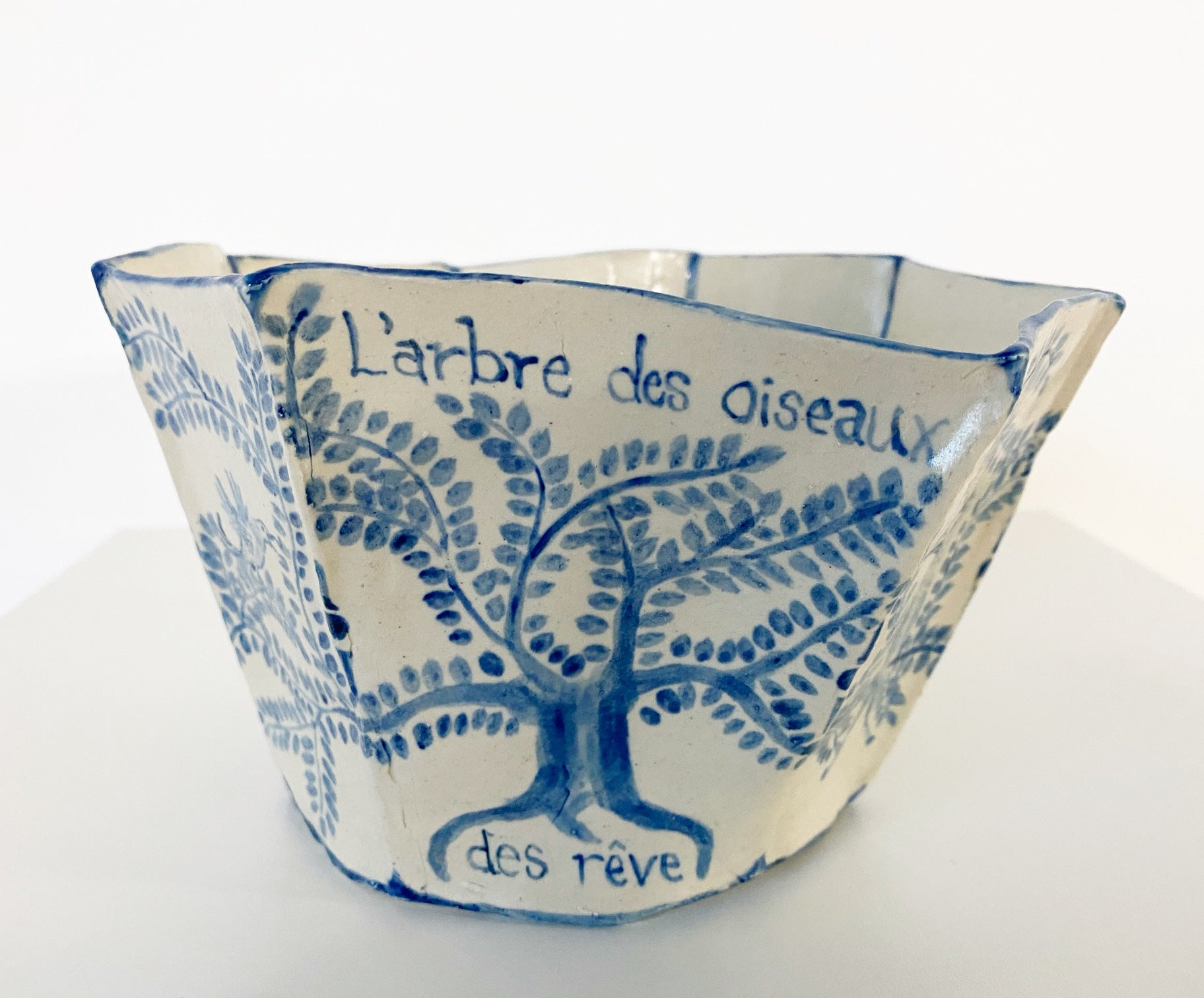 The Tree of Dream Birds Bowl. - FORSYTH