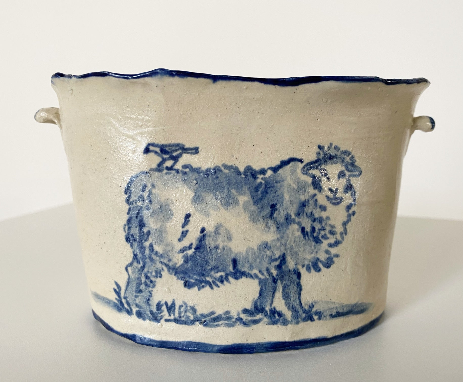 Sheep Vase. - FORSYTH