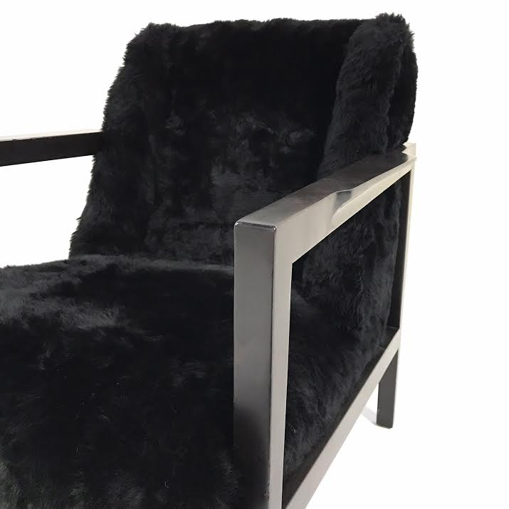 Model 406 Chair in Brazilian Sheepskin - FORSYTH