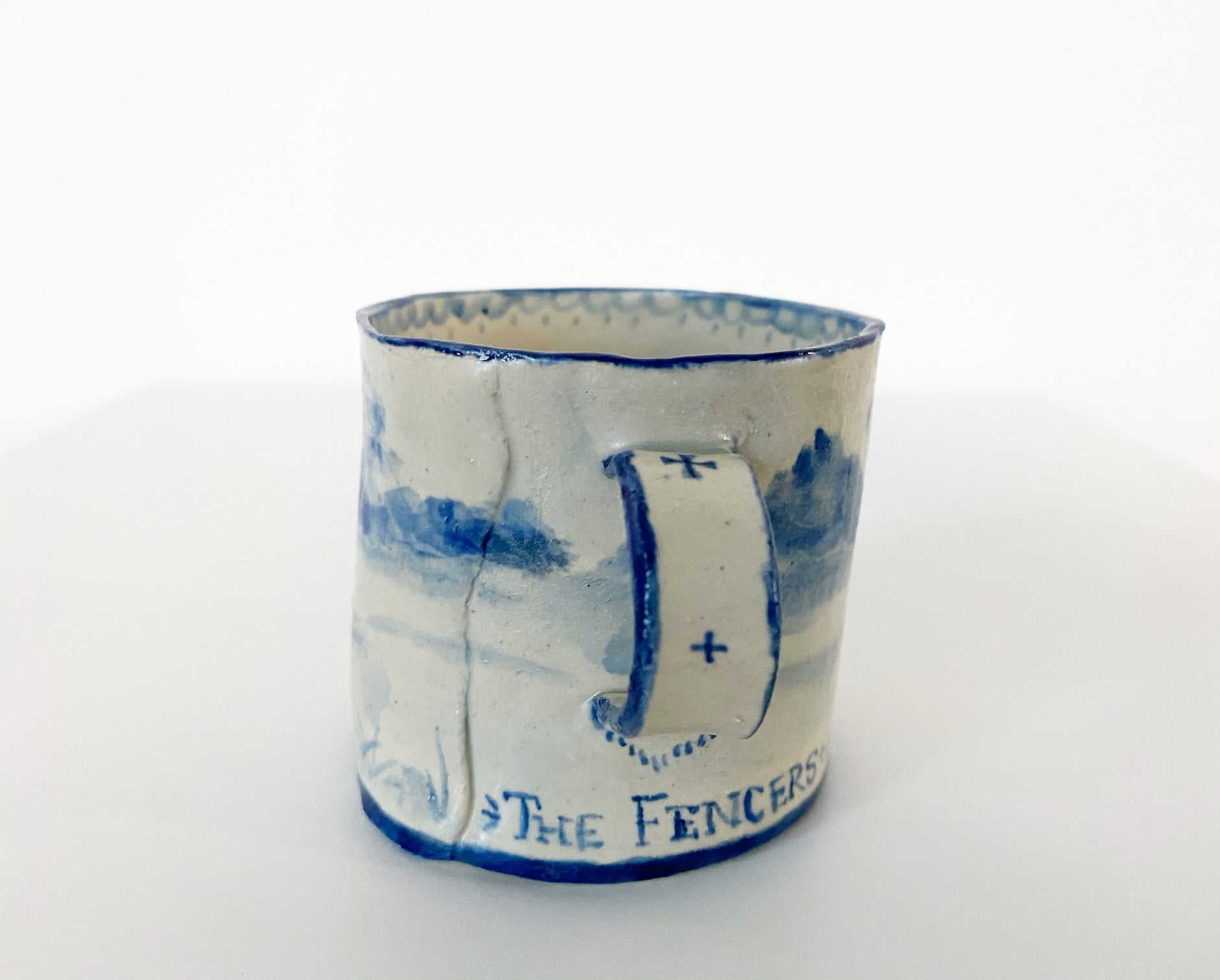 The Fencers Mug. - FORSYTH