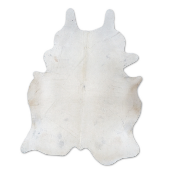 Brazilian Cowhide Rug, Ivory - FORSYTH