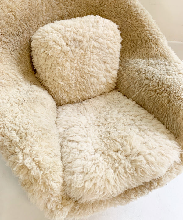 Womb Chair in California Sheepskin - FORSYTH