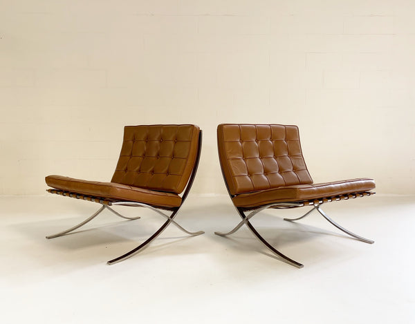 Gerald R. Griffith Barcelona Chairs, pair - FORSYTH
