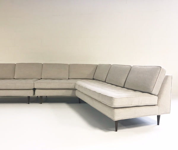 Sectional Sofa in Loro Piana Alpaca Wool - FORSYTH