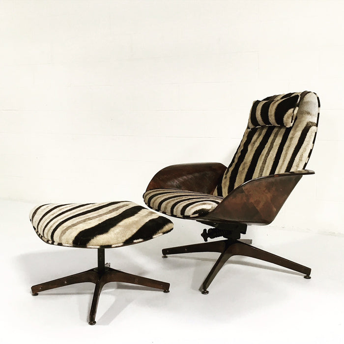 George Mulhauser for Plycraft Lounge Chair & Ottoman - FORSYTH