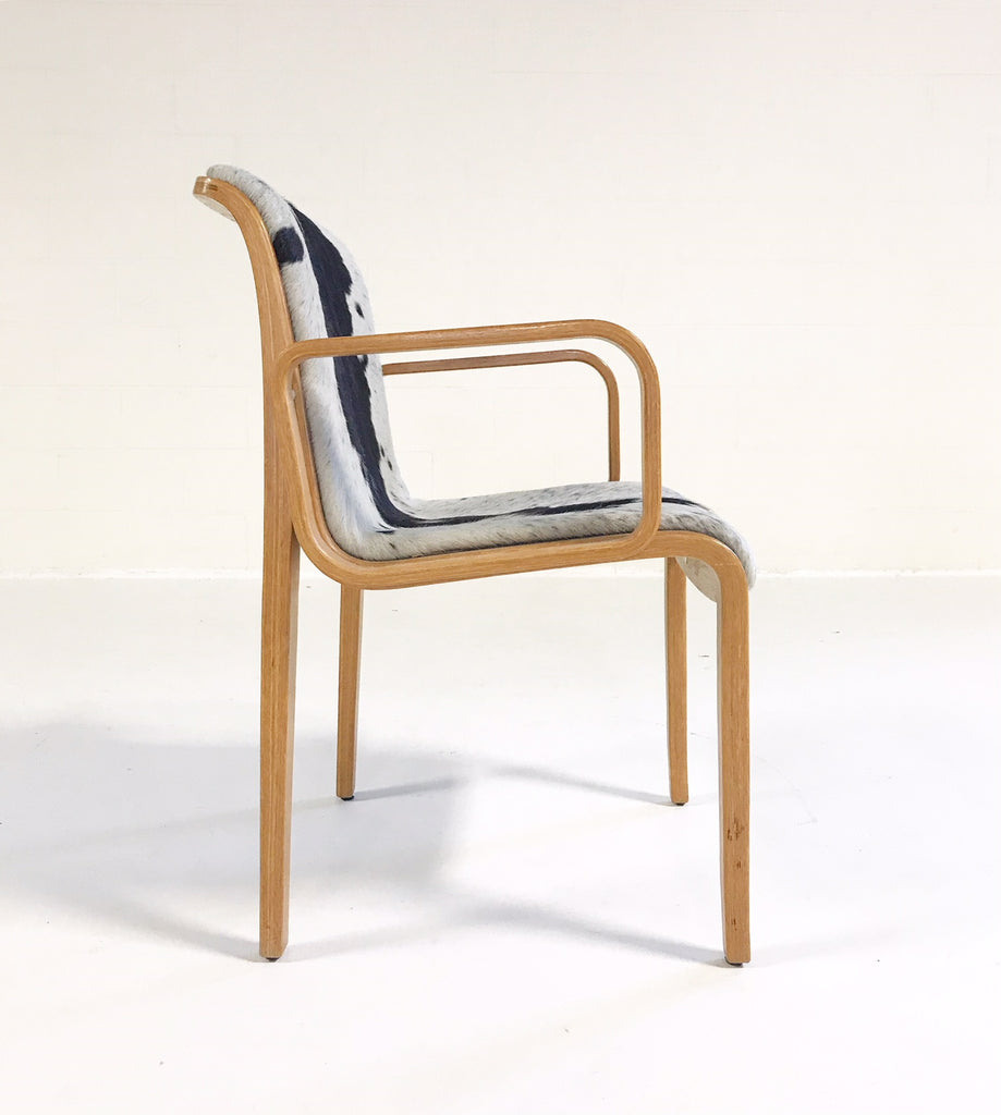 Vintage Bill Stephens for Knoll Chair Restored in Brazilian Cowhide - FORSYTH