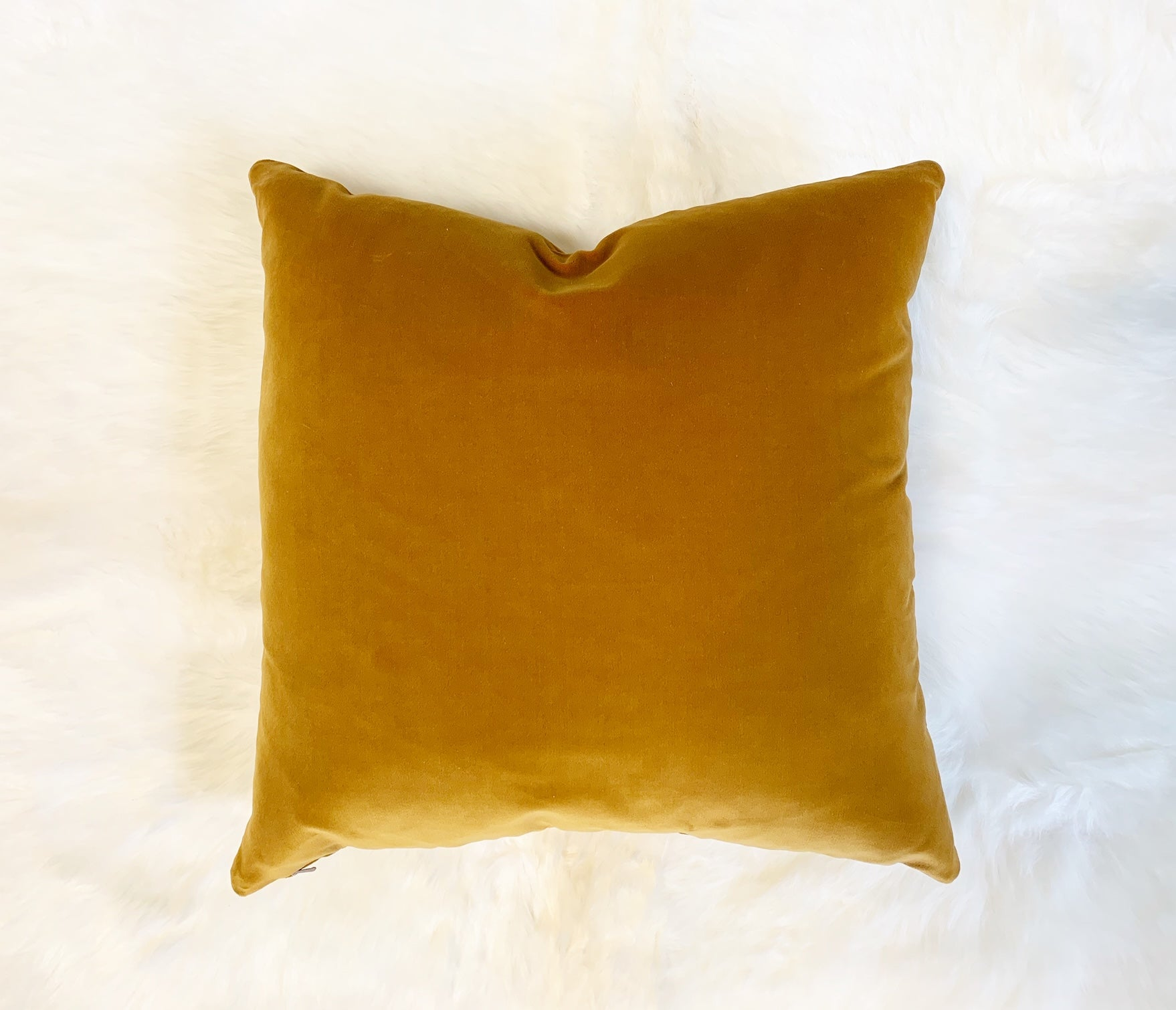 "Loro Piana Velvet Pillow, 18"" - FORSYTH"