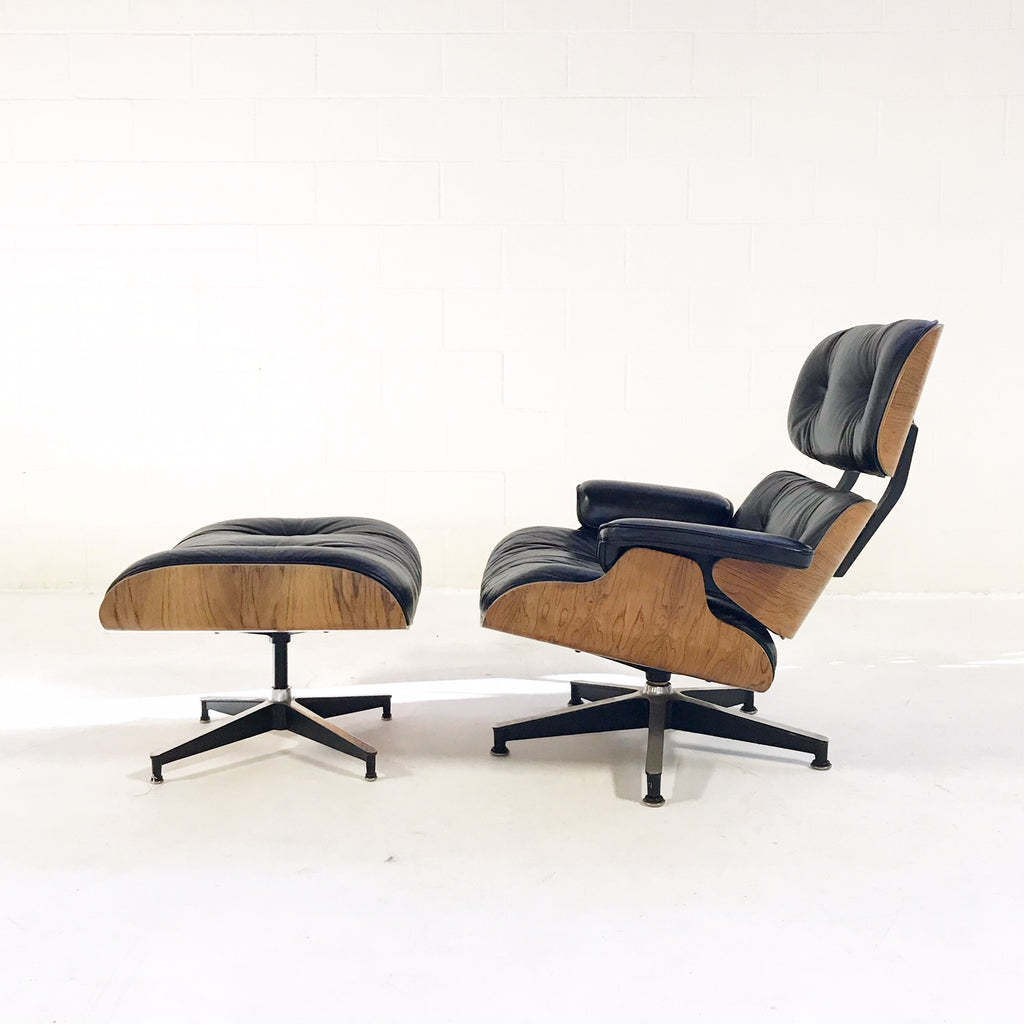 Vintage Charles and Ray Eames for Herman Miller 670 Lounge Chair and 671 Ottoman - FORSYTH