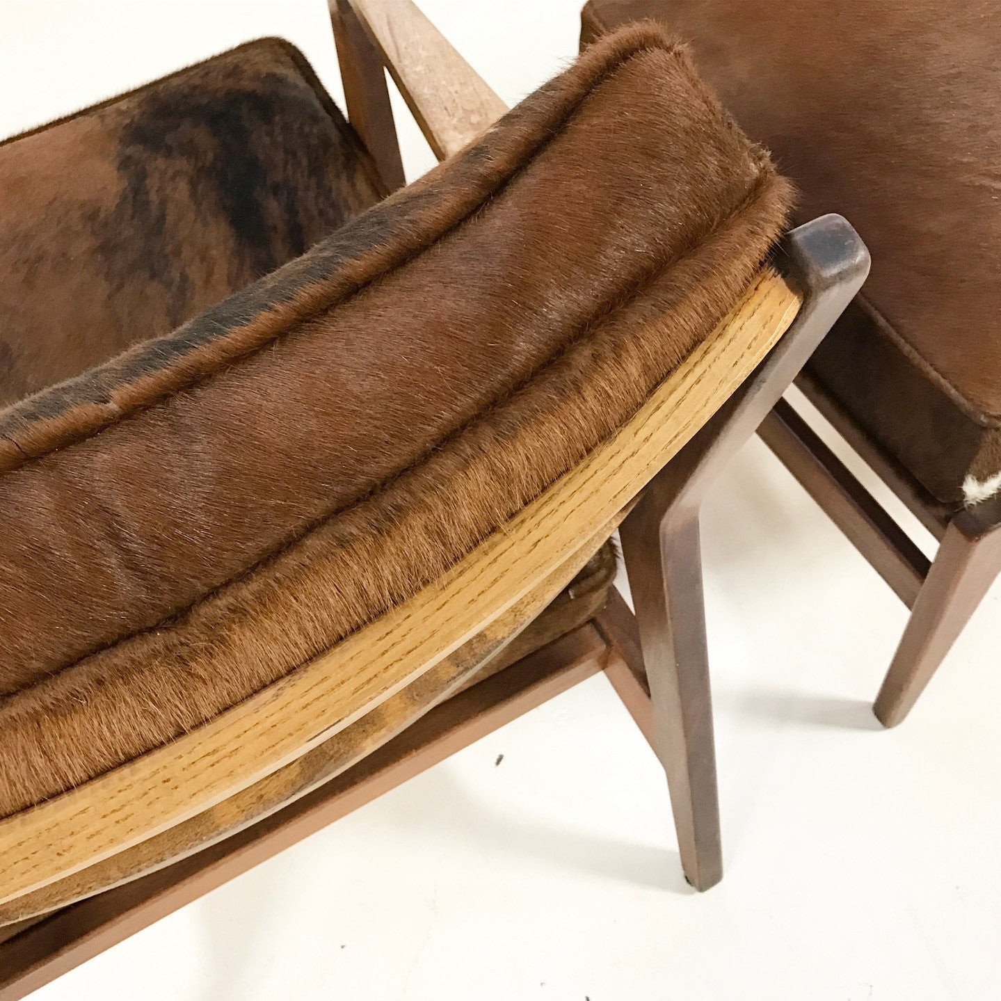 Lounge Chair & Ottoman in Brazilian Cowhide - FORSYTH