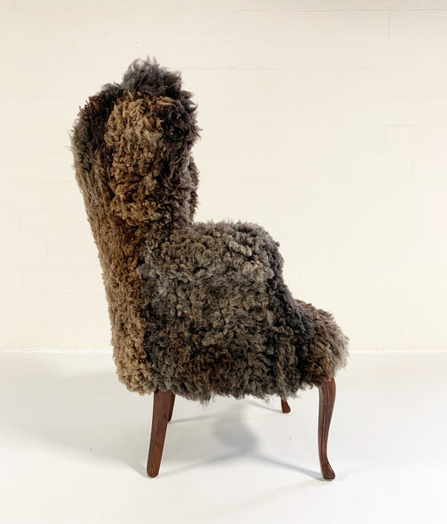 Wingback in California Sheepskin - FORSYTH