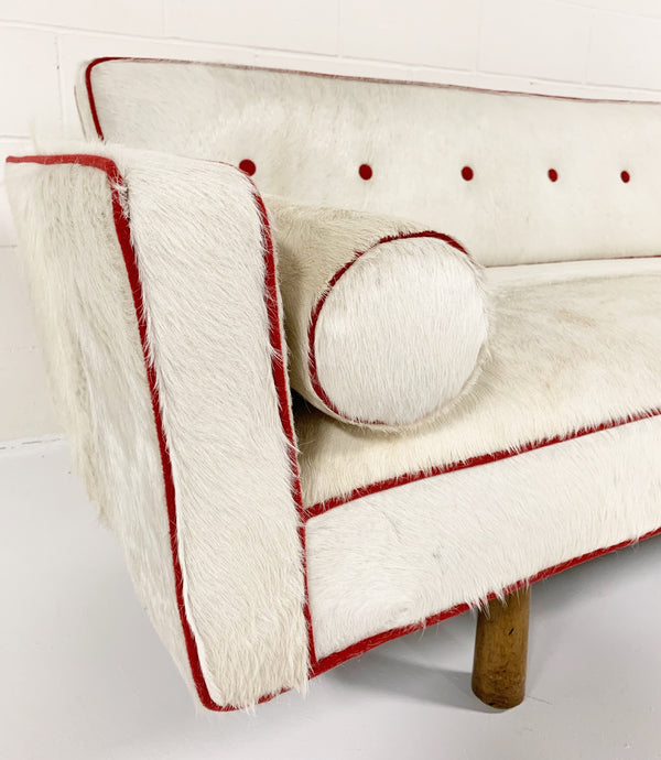 Model 5316 Sofa in Brazilian Cowhide - FORSYTH