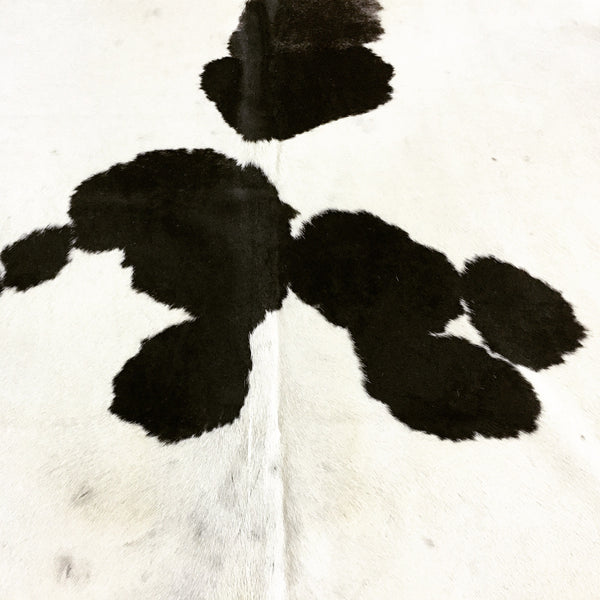 Brazilian Cowhide Rug, Black and White - FORSYTH
