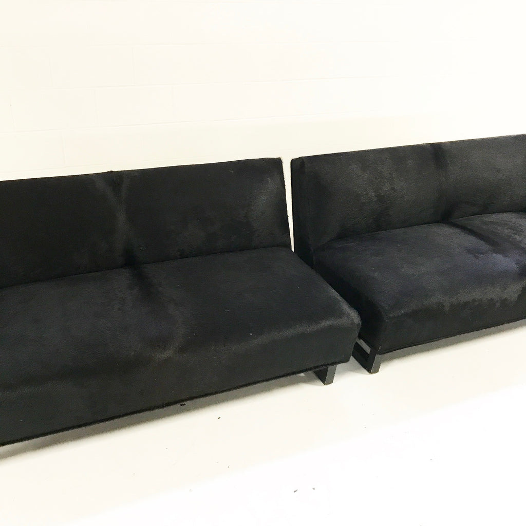 1950s 2-Piece Sectional Sofa in Brazilian Cowhide - FORSYTH
