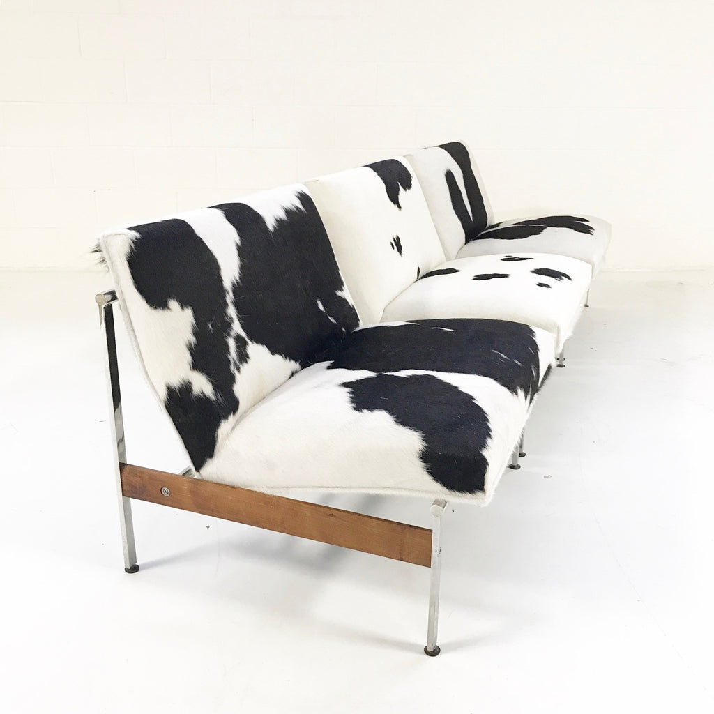Glenn of California Lounge Chairs in Brazilian Cowhide - A Trio - FORSYTH