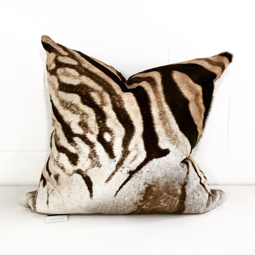 "Zebra Pillow, 24"" - FORSYTH"