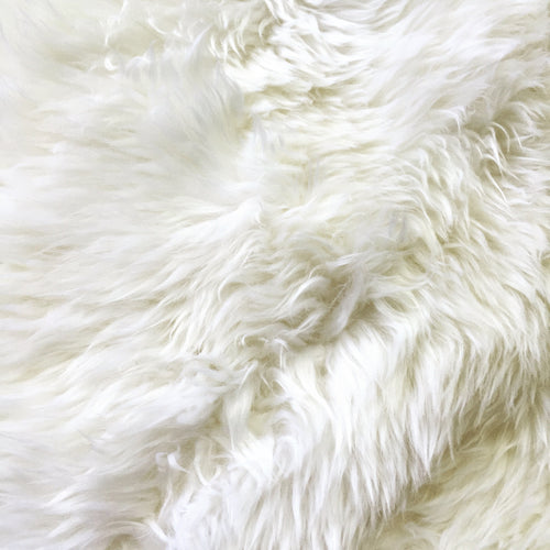 New Zealand Sheepskin Rug, Ivory - FORSYTH