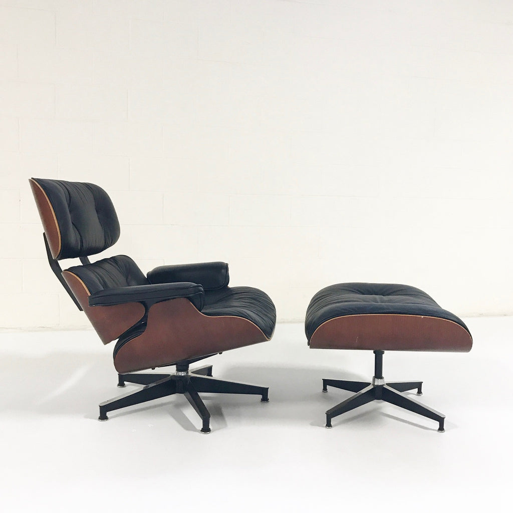 Vintage Charles and Ray Eames for Herman Miller 670 Lounge Chair & 671 Ottoman - FORSYTH