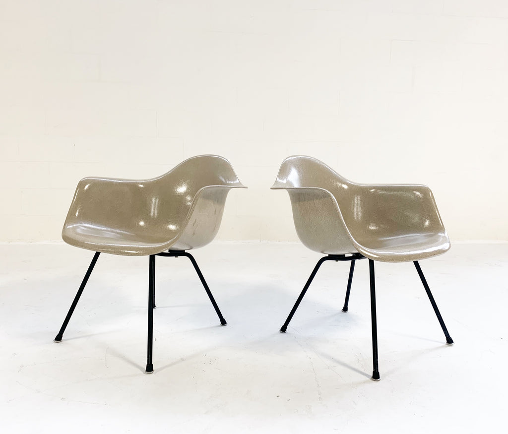 c. 1950 Charles and Ray Eames for Herman Miller DAX Chairs - Pair - FORSYTH