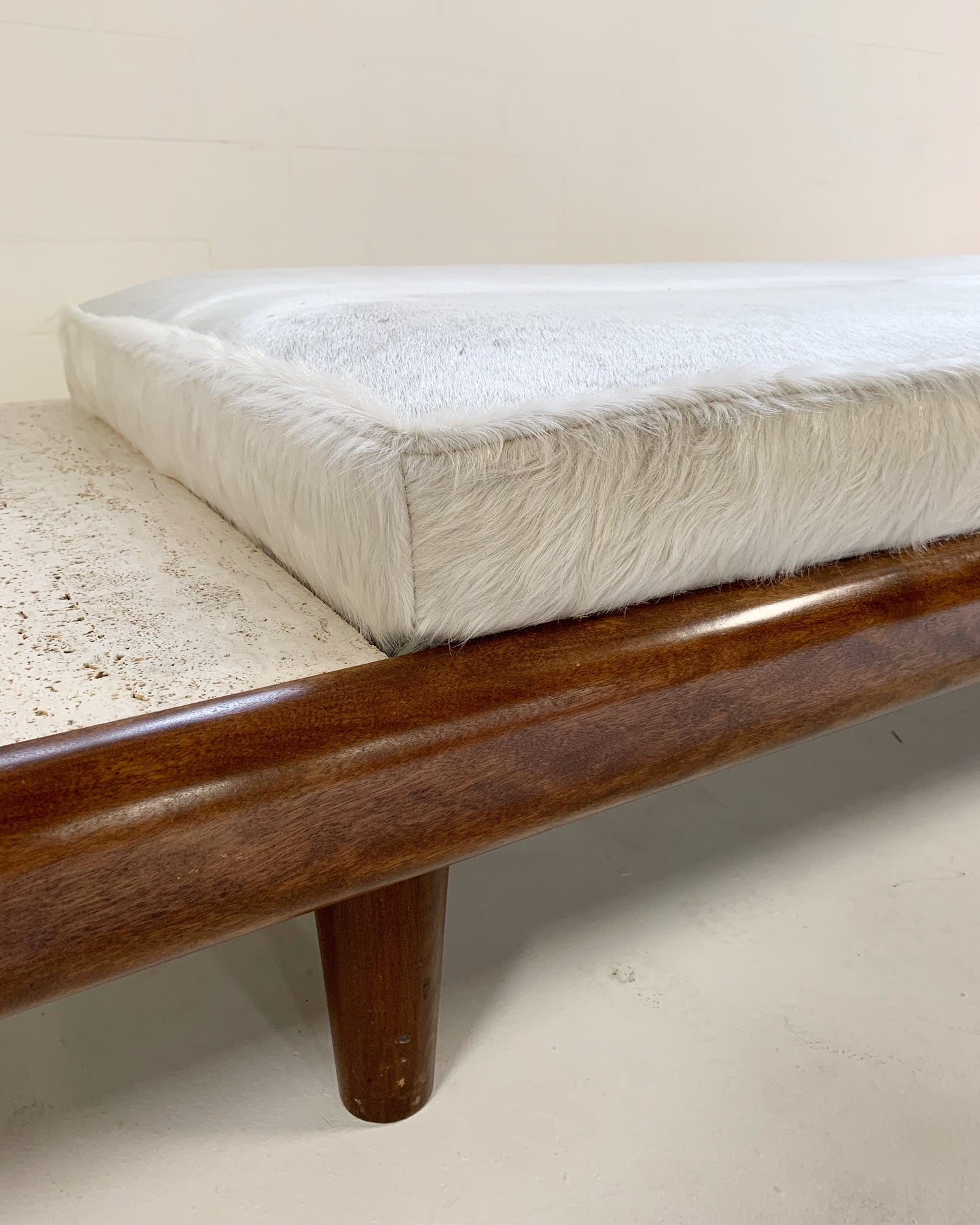Daybed with Brazilian Cowhide Cushion - FORSYTH