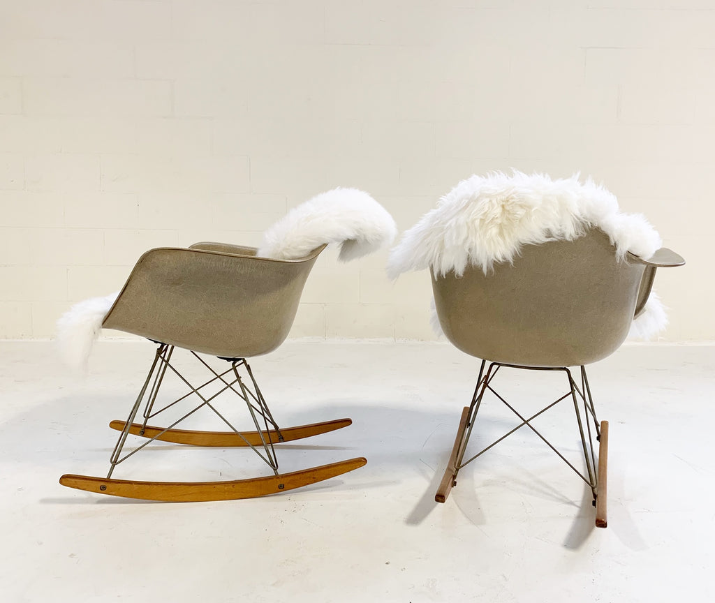 c. 1950 Charles and Ray Eames for Herman Miller RAR Rocking Chairs - Pair - FORSYTH