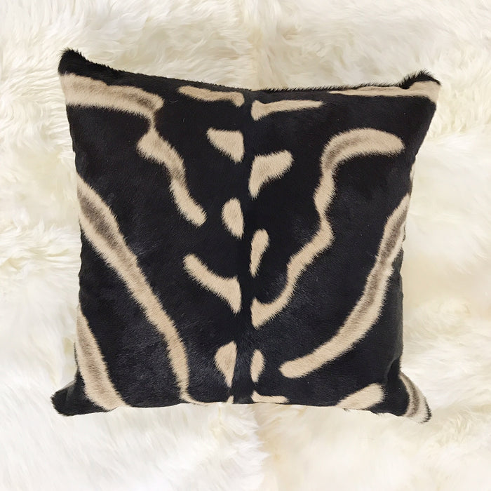 ZEBRA HIDE PILLOW, NO. 281