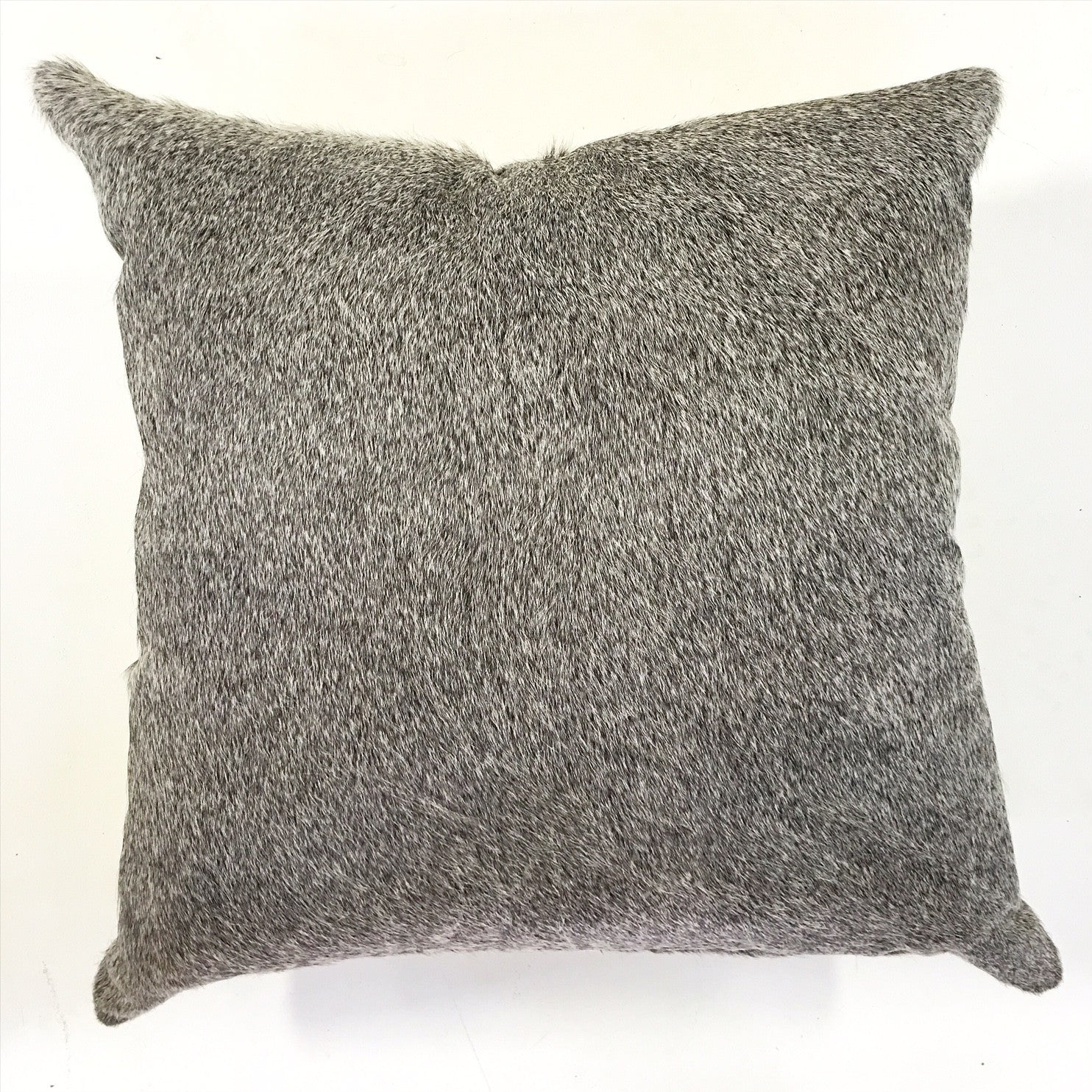 "Salt & Pepper Cowhide Pillow, 24"" - FORSYTH"