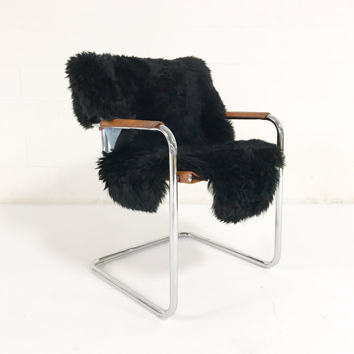 Brazilian Sheepskin Rug - Black