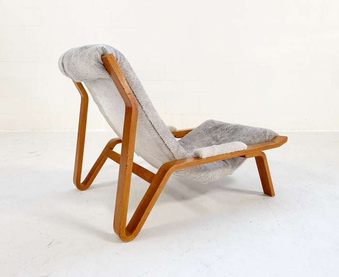 Harvey Probber Suspension Chair Restored in Brazilian Cowhide - FORSYTH