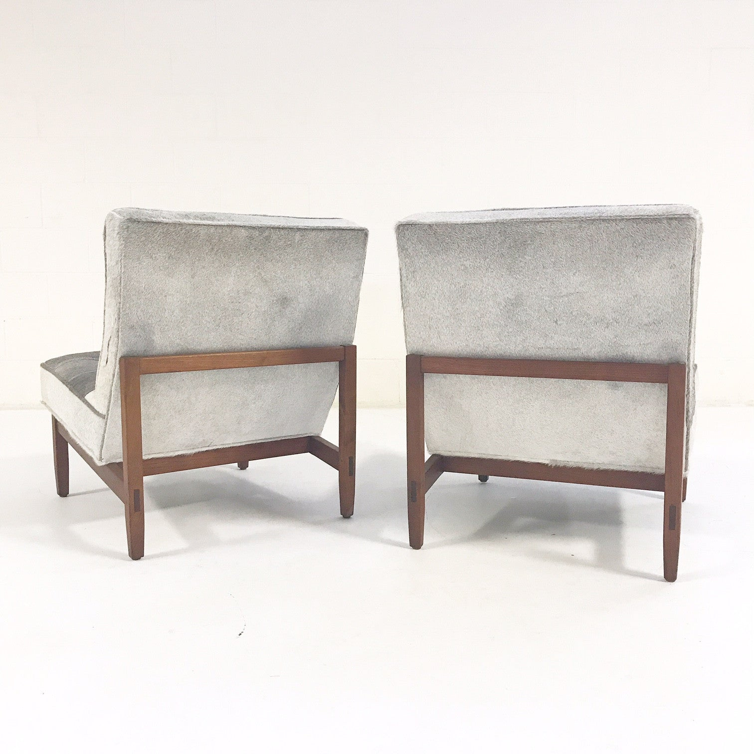 Lounge Chairs in Brazilian Cowhide, pair - FORSYTH