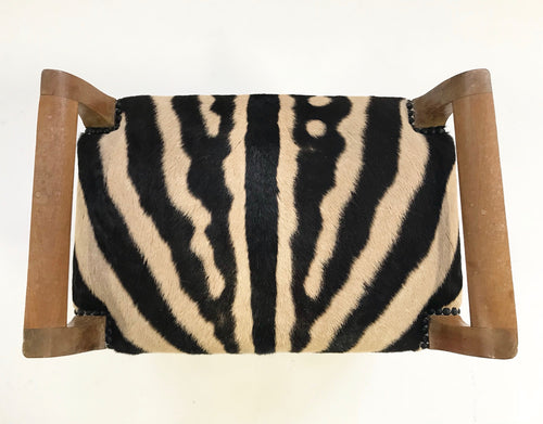 Small Bench in Zebra Hide - FORSYTH