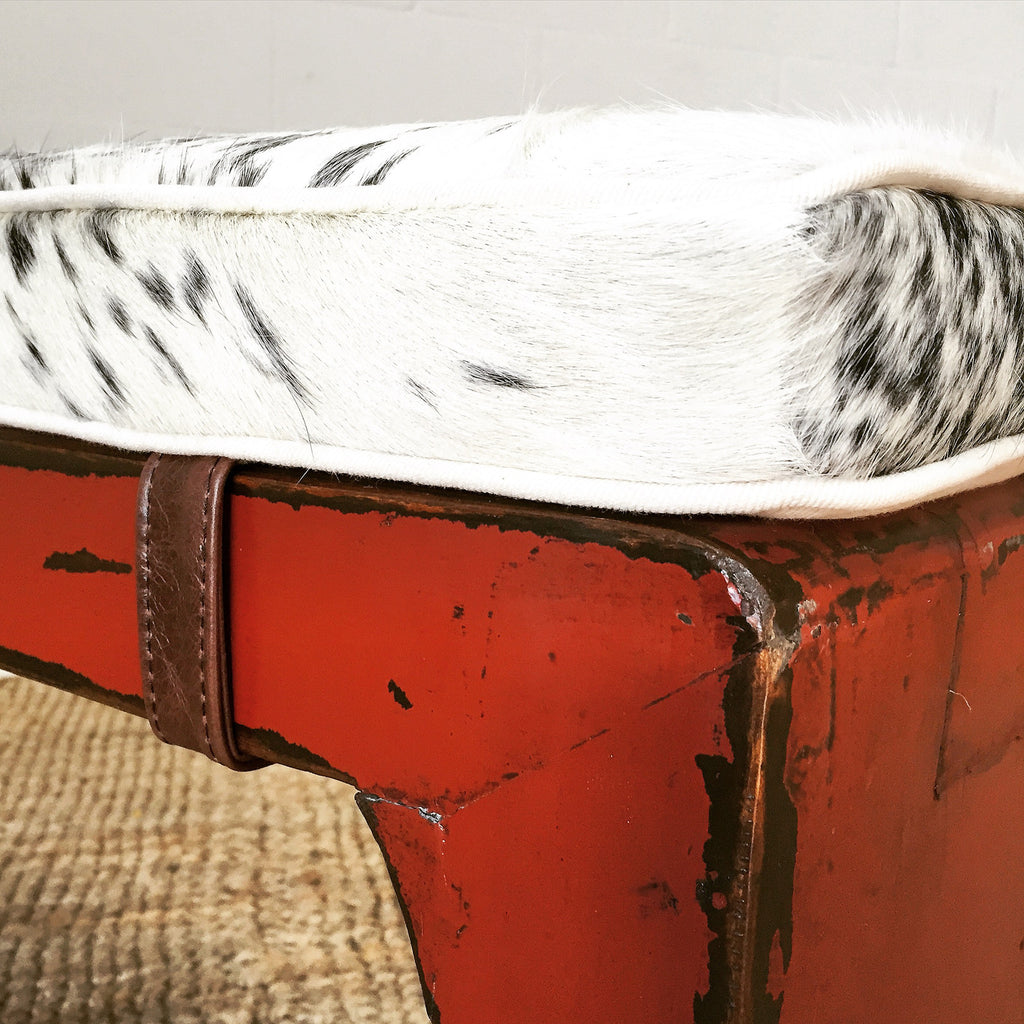 Vintage Chinese Art Deco Bench - FORSYTH