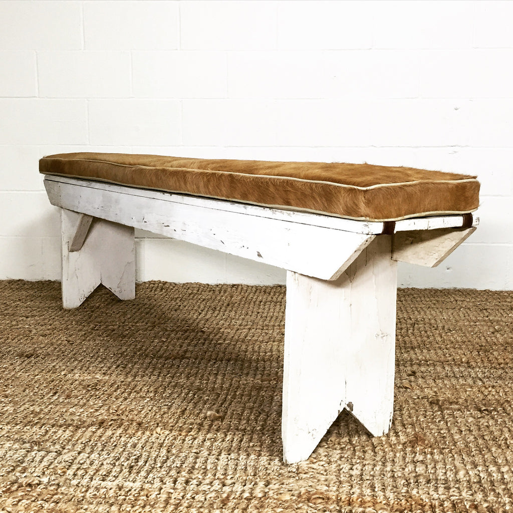 Vintage Farmhouse Bench - No. 5 - FORSYTH