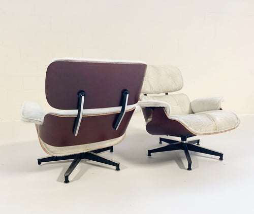670 Lounge Chairs and 671 Ottomans in Brazilian Cowhide - FORSYTH