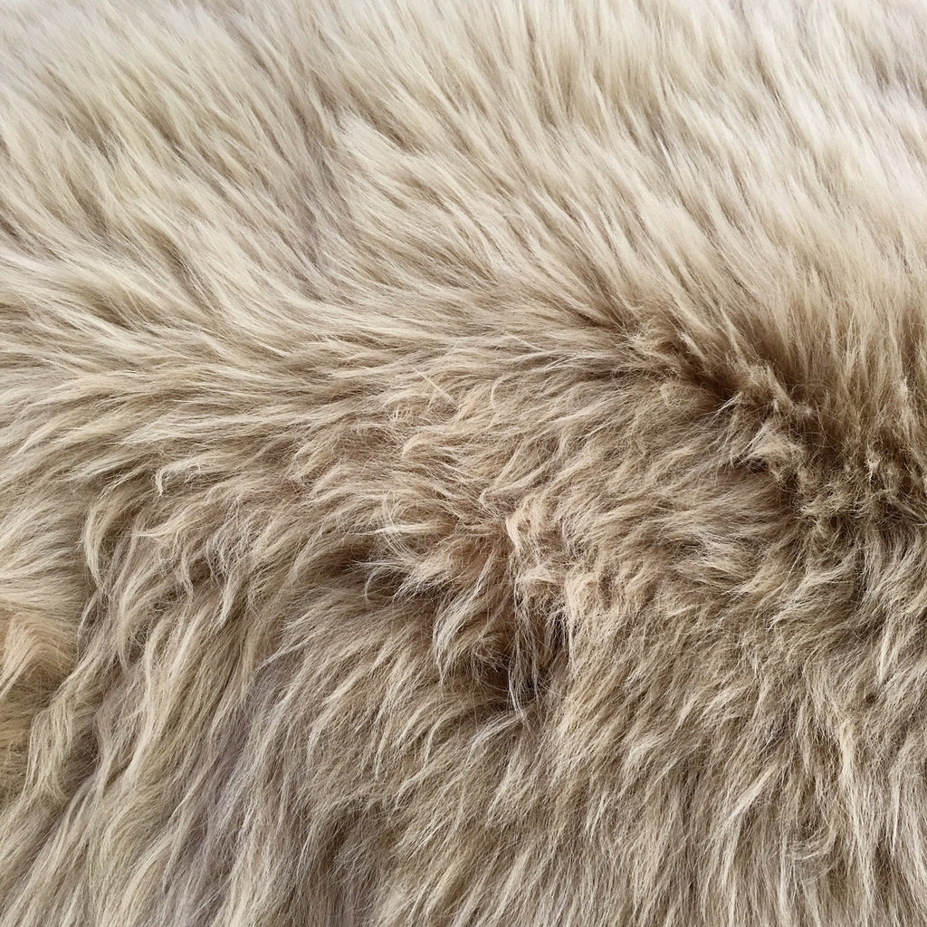 New Zealand Sheepskin Rug - Tan - FORSYTH