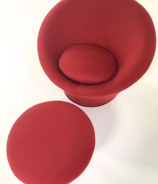 Mushroom Chair in Loro Piana Cashmere - FORSYTH