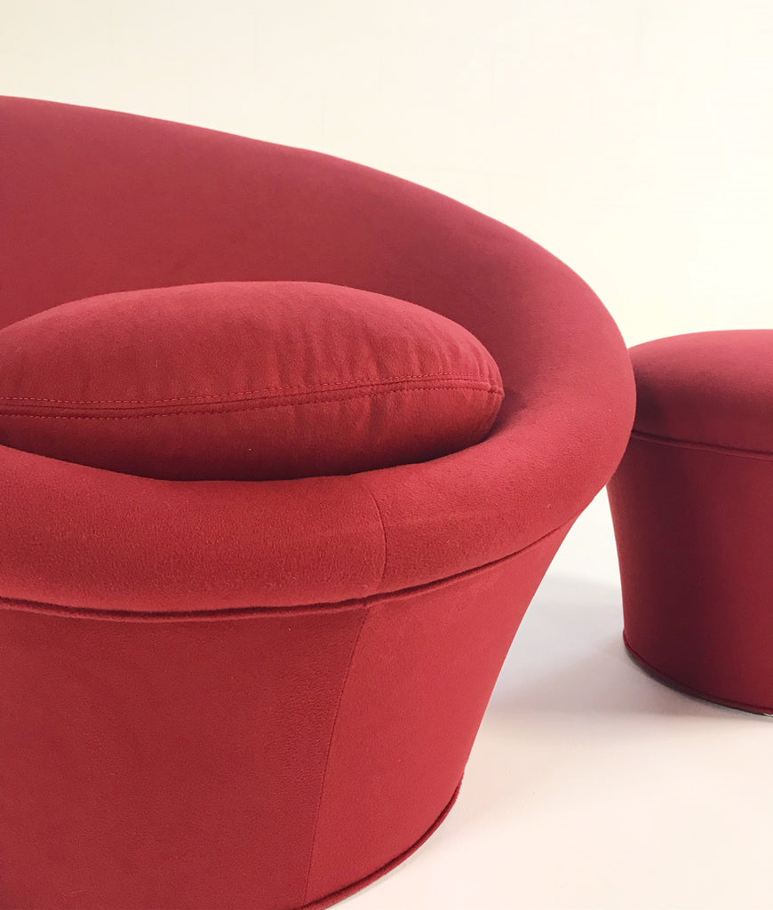 Pierre Paulin for Artifort Mushroom Chair Restored in Loro Piana Cashmere - FORSYTH