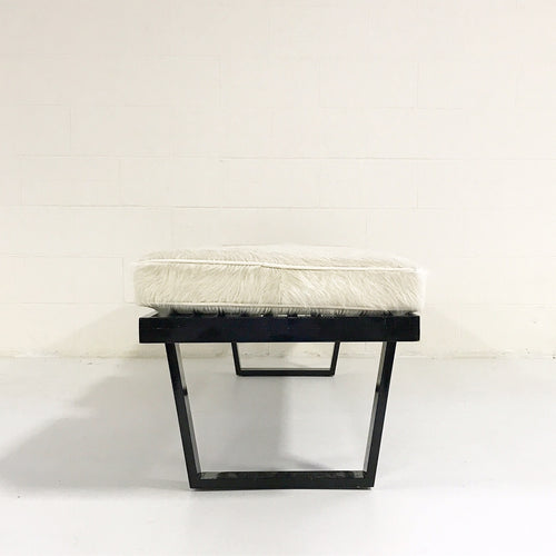 Model 4692 Platform Bench with Brazilian Cowhide Cushions - FORSYTH