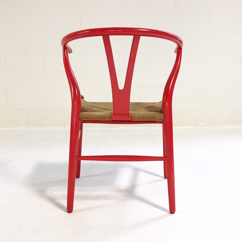 Vintage Wishbone Chair by Hans Wegner, Model CH24 - FORSYTH