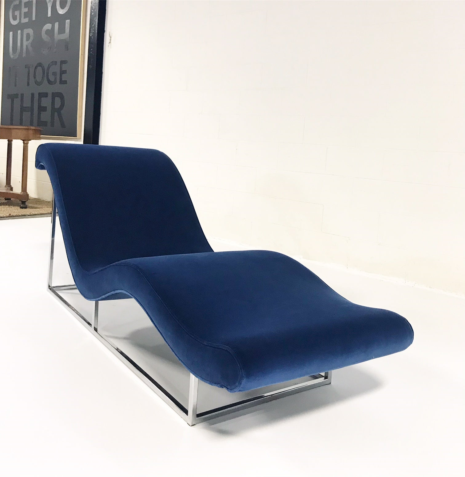 Chaise Lounge in Loro Piana Velvet - FORSYTH