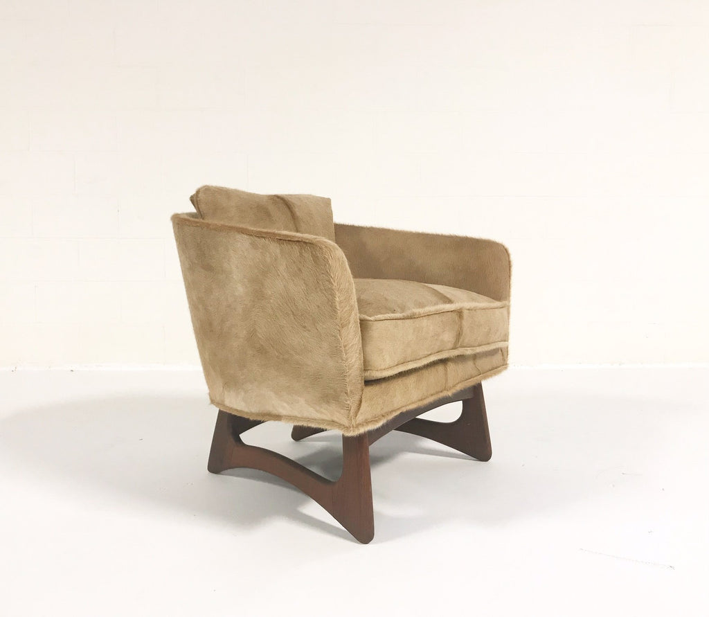 Adrian Pearsall for Craft Associates Lounge Chair in Brazilian Cowhide - FORSYTH