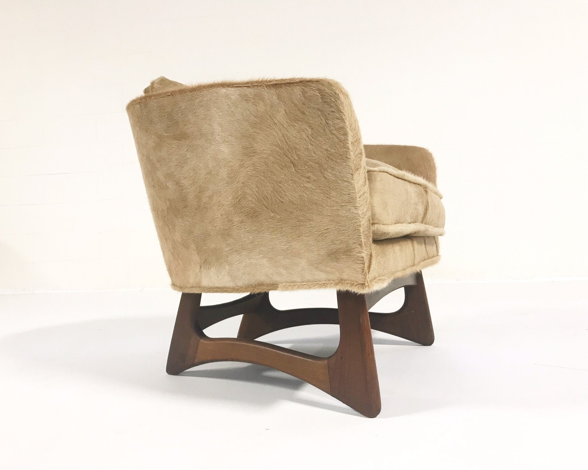 Lounge Chair in Brazilian Cowhide - FORSYTH